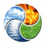 eléments,eau,feu,air,terre