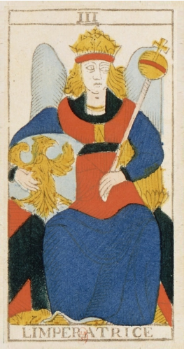 impératrice, tarot, arcane III, conver