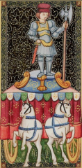 chariot, arcane, tarot