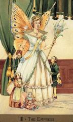 impératrice, tarot, arcane III